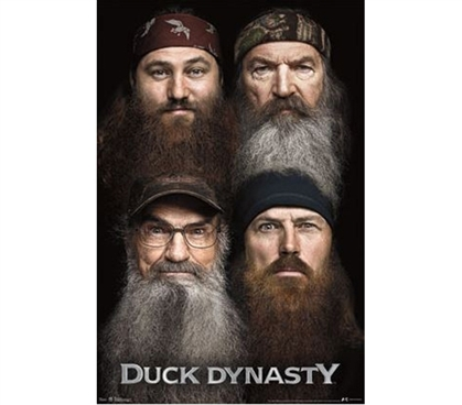 Cheap Posters - Duck Dynasty - Beards Poster - College Essentials