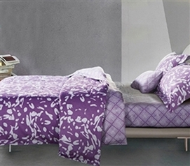 Dorm Bedding for Girls Passion Berry Comforter Twin XL Extra Long
