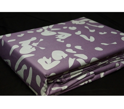 Passion Berry Twin XL Sheet Set - College Ave Designer Series