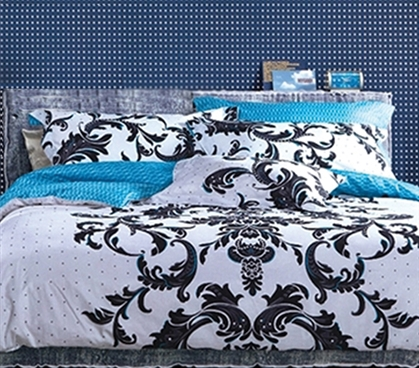 TXL Comforter for College Inspire Dorm Bedding for Girls Extra Long Comforter
