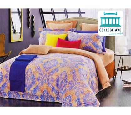 TXL Comforter for College Barbados Sunrise Twin Extra Long Dorm Bedding