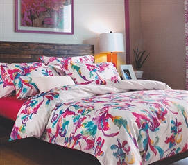 Artistry Pink and Blue College Dorm Bedding for Girls TXL Comforter