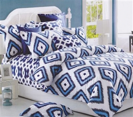 College Dorm Bedding Comforters Tiwa Twin Extra Long Comforter Set