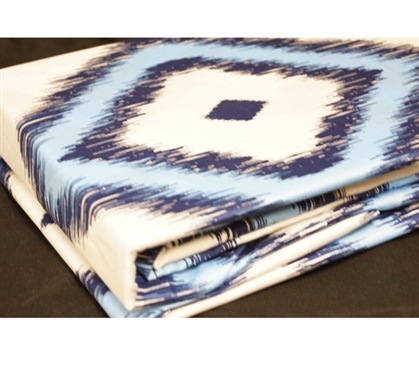 Tiwa Twin XL Sheet Set - College Ave Designer Series