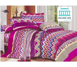 Twin Extra Long Dorm Bedding Arid Reign Dorm Bedding for Girls