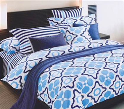 Twin XL Comforter Sets Poseidon Girls Dorm Bedding