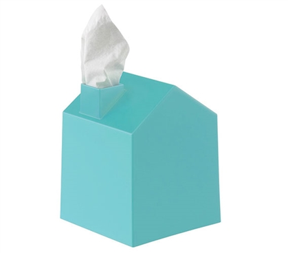 Tissue Box House - Blue