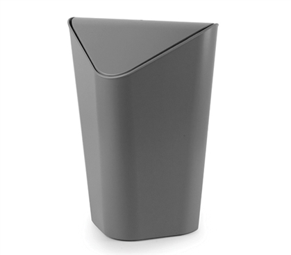 Corner Trash Can - Gray