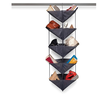 Double Sided Dorm Shoe Organizer