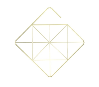 Geometric Square Accessory Hanger