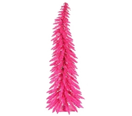 Dorm Room Decor Pink Whimsical Laser Dorm Christmas Tree Holiday Decorations