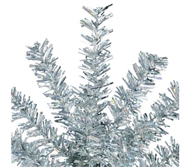 "Holiday Decorations Dorm Room Decorations 7"" Silver Mini Spray"