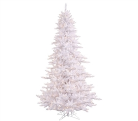 "Holiday Dorm Room Decorations 3'x25"" White Fir Tree with Mini Lights"