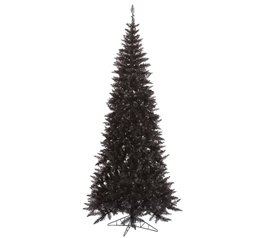 "Holiday Decorations 4.5'x24"" Black Slim Fir Tree Dorm Room Decor"