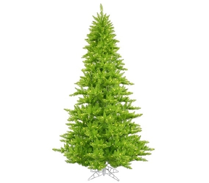 "3'x25"" Lime Fir Christmas Tree with Mini Lights Dorm Essentials Dorm Room Decorations"