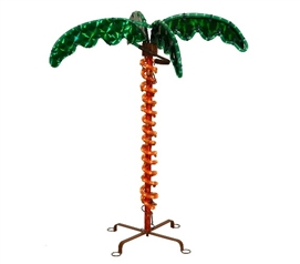 Dorm Room Decorations 2.5' LED Rope Light Dorm Palm Tree Holiday Decorations