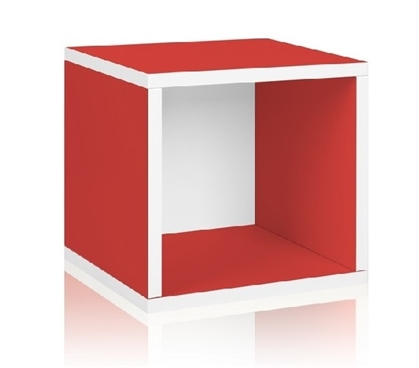 Adds To Your Dorm Storage - Storage Cube Red - Way Basics Dorm - Essentials For College Students