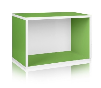 Dorm Room Storage Rectangle Green - Way Basics Dorm Storage Solutions