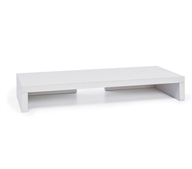 Desktop Monitor Stand - White