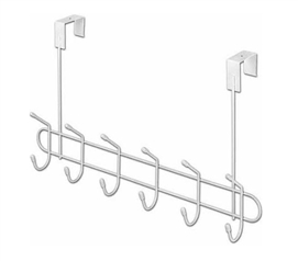 Over the Door Dorm Storage Hooks