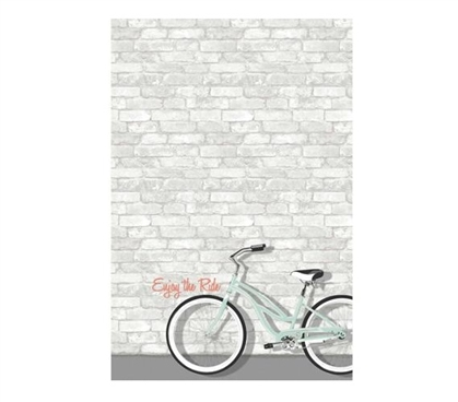 Enjoy The Ride Message Board Wall Art - Peel N Stick Dorm Essentials