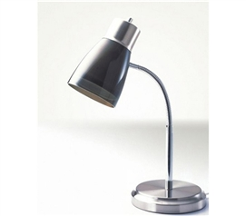 Cheap Dorm Item - Gooseneck College Desk Lamp - Black - Best Light For College