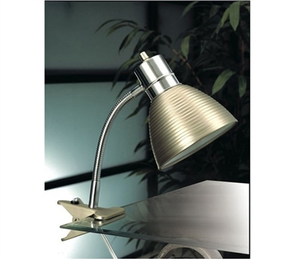 Cheap Dorm Supply - Steel Dorm Clip Lamp - Dorm Room Lighting Essential