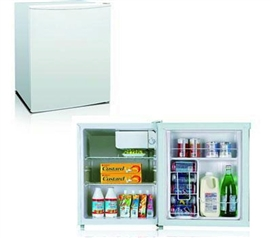 Midea College Dorm Fridge - 2.4 Cu. Ft. - White College Supplies