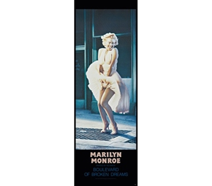 Marilyn Monroe - Blvd College Dorm Room Poster Dorm Essentials