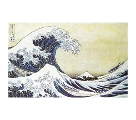 Cheap Decorative Decor - Hokusai - The Great Wave Poster For College
