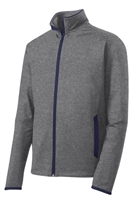 853 Sport-Wick® Stretch 1/2-Zip Colorblock Pullover