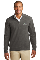 K807 Men's Interlock 1/4 Zip Knit Sweater