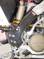 CRF 250R FRAME GUARDS (2004-2005)