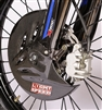 YZ 250F CF FRONT DISC GUARD (2014-2018)