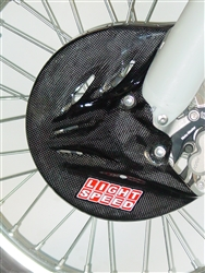 CRF 250R CF FRONT DISC GUARD (2013-2017)
