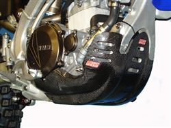 YZ 450F FACTORY CF GLIDE PLATE (2010-2013)