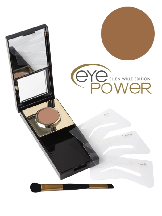 Eye Power Eyebrow Makeup | Dark Brown