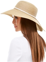 Braided Wide Brim Hat