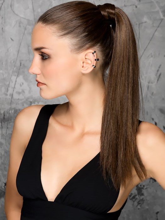 Aqua Ponytail Extension | Ellen Wille