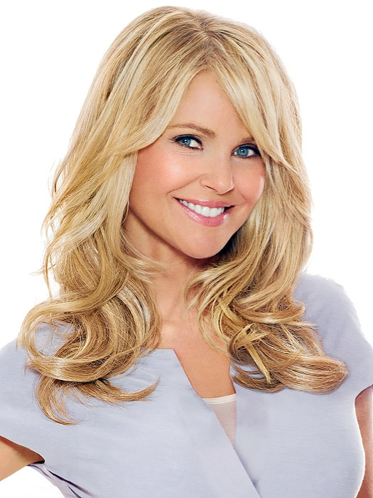 16 Hair Extension Christie Brinkley Clip In Wigs For Women Easi