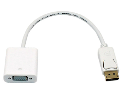 Displayport to VGA Female Cable Adapter