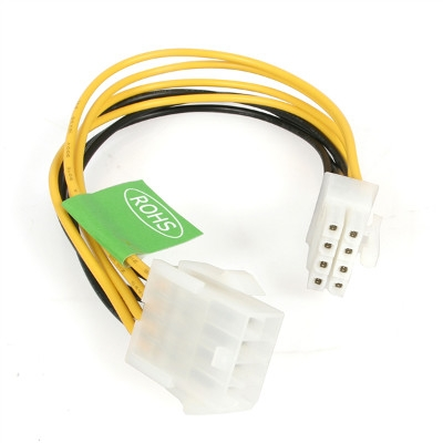 8in EPS 8 Pin Power Extension Cable