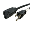 25ft POWER CORD EXT. NEMA 5-15P/5-15R