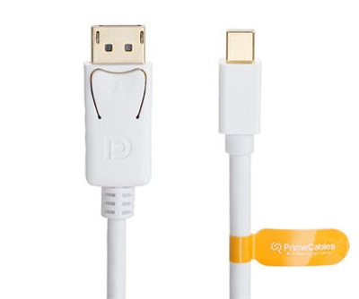 Mini DisplayPort to DisplayPort (mini DP to DP) Cable 6Ft