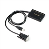 VGA to HDMI Adapter with USB Audio & Power, Portable VGA to HDMI Converter, 1080P