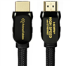 15ft HDMI® 2.0 Cables with Nylon Jacket 4K@50/60 (2160p)
