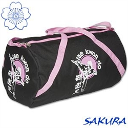 Martial Arts Gear Bag Roll Taekwondo Pink