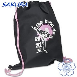 Martial Arts Supplies Gear Bag Sport Pack Pink Taekwondo Tae Kwon Do TKD