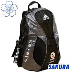 Martial Arts Gear Bag Backpack Adidas WKF