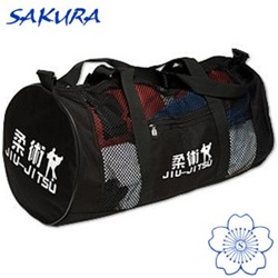 Martial Arts Supplies Gear Bag Mesh Jiu-Jitsu for classical Japanese or sport BJJ Brazilian Jujutsu